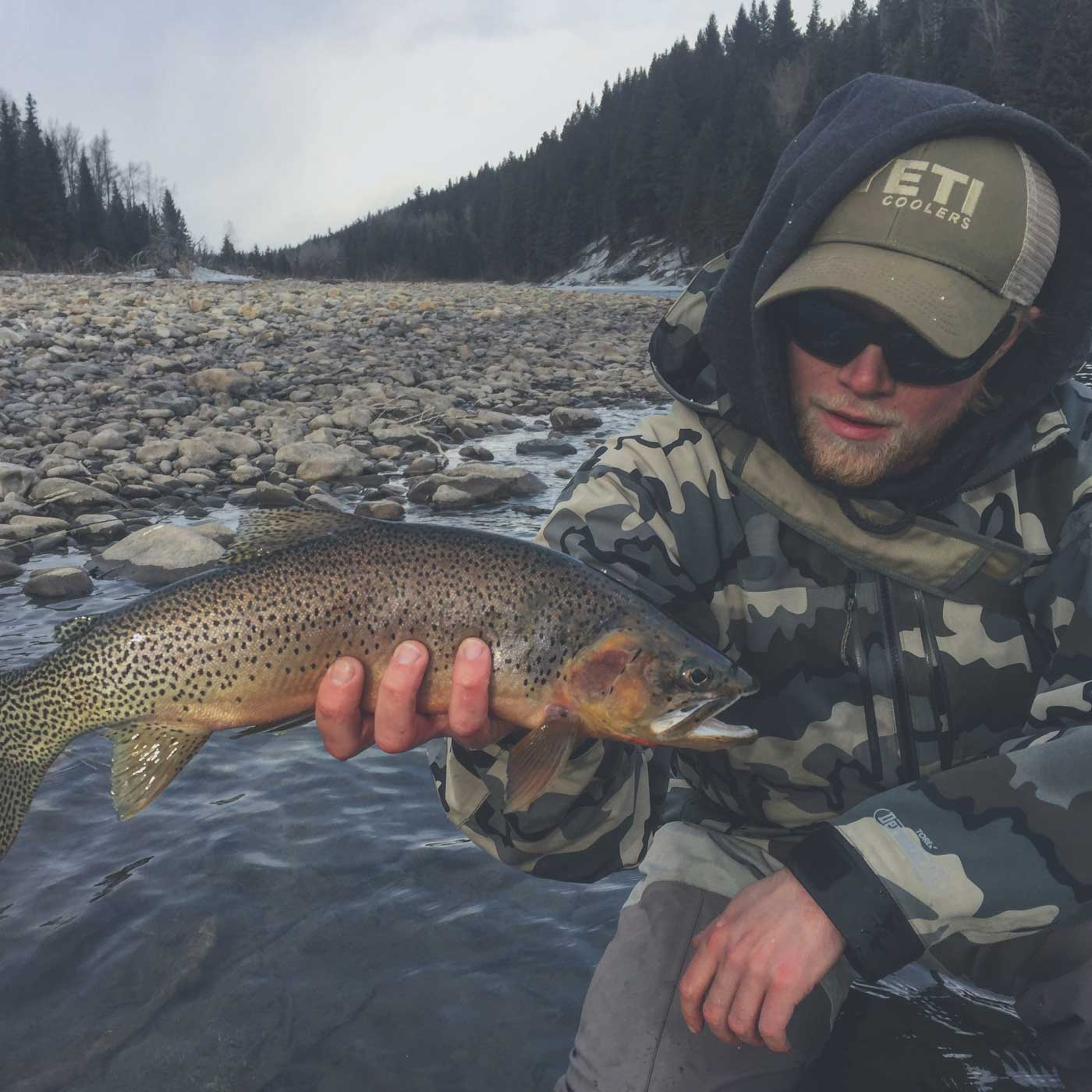 Fly Fishing Guide Curtis Hall in Fernie, BC