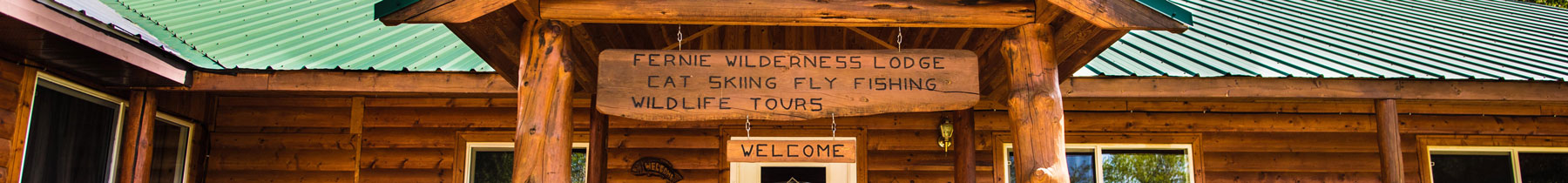 Lodge | Guided Fly Fishing in Fernie BC at Fernie Wilderness Adventures