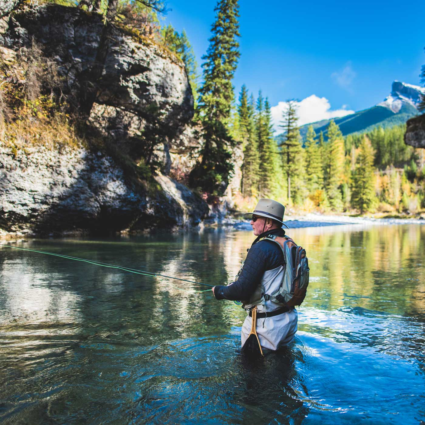 Fly Fishing the Bull River, East Kootenays, BC