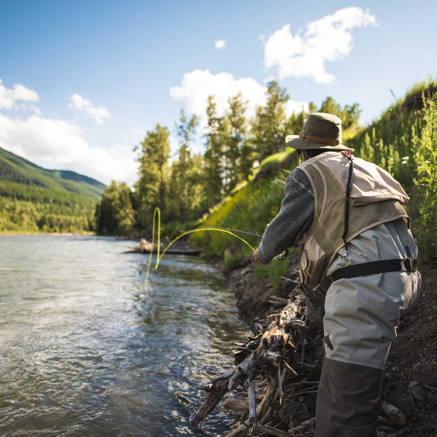 Fly Fishing the Elk River in Fernie, BC