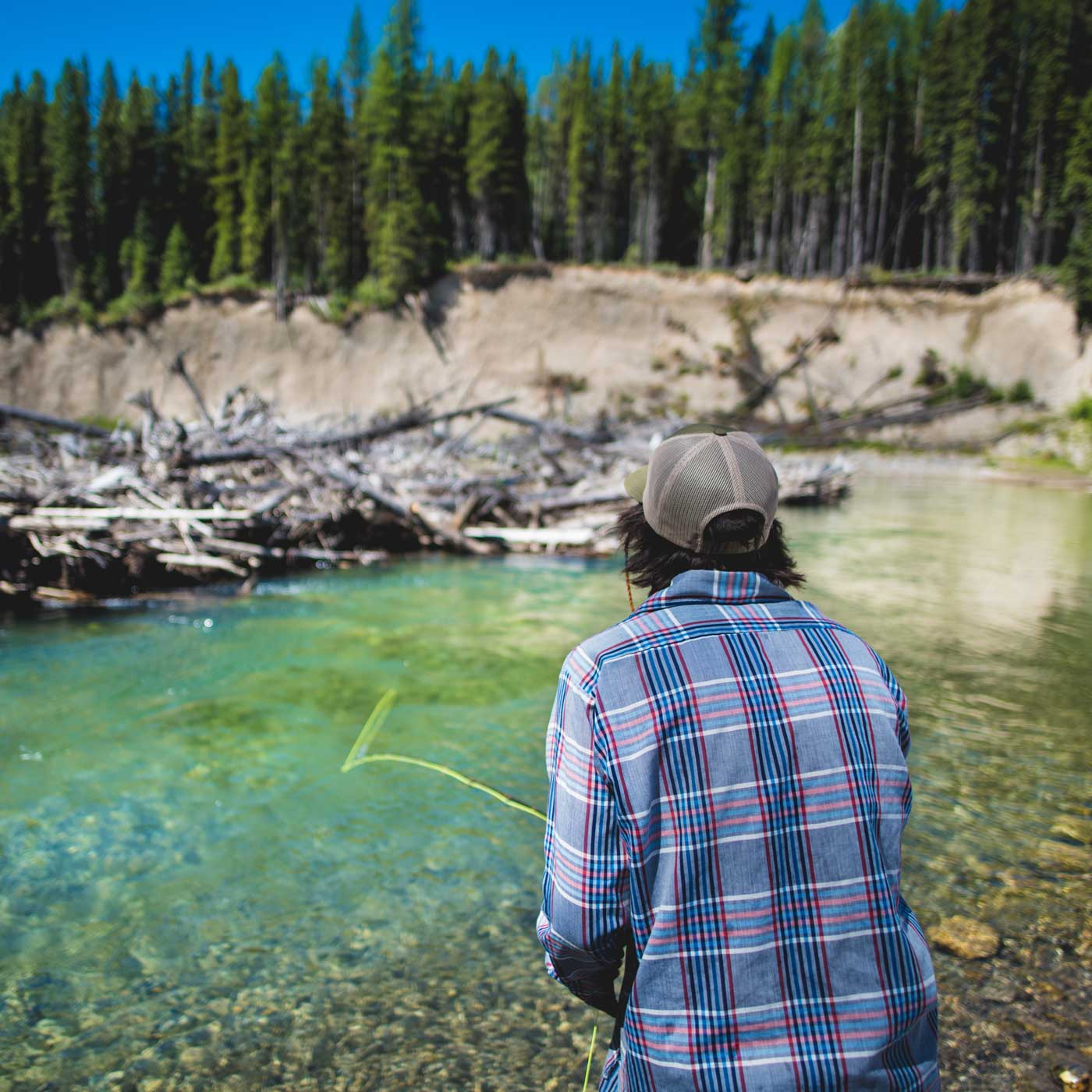 Fly Fishing the Flathead River in British Columbia, Canada