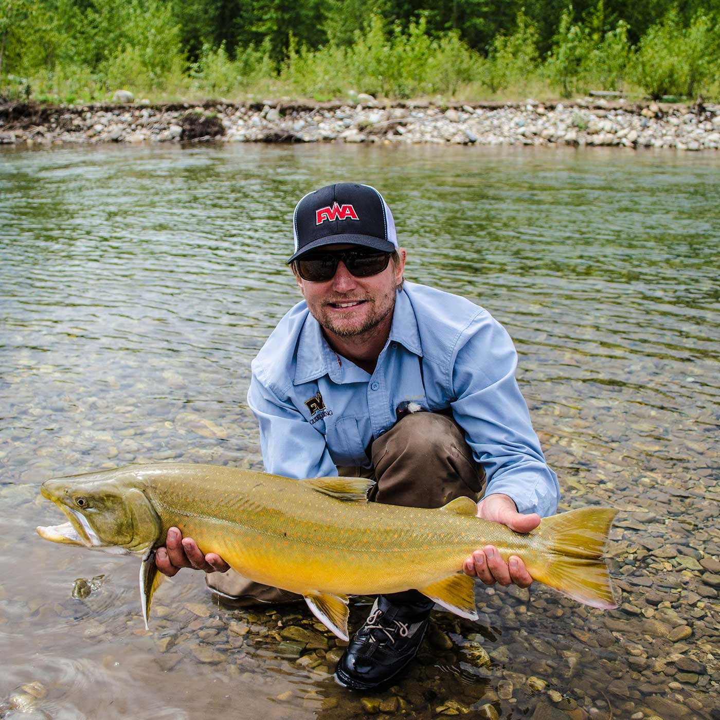 Fly Fishing Guide Brian Lull in Fernie, BC