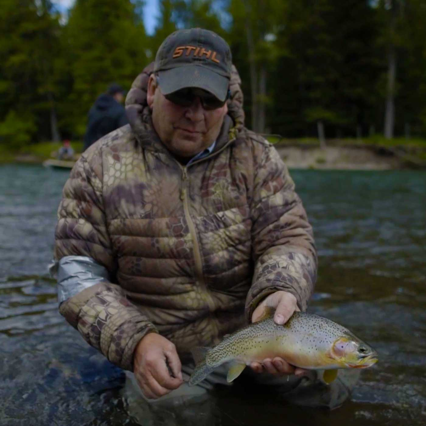 Fly Fishing Guide Kim Sedrovic in Fernie, BC