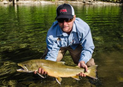 Guided Fly Fishing on the Elk River with FWA Fly Fishing (10)