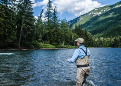 Guided Fly Fishing on the Elk River with FWA Fly Fishing (11)