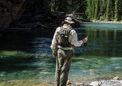 Guided Fly Fishing on the Elk River with FWA Fly Fishing (12)
