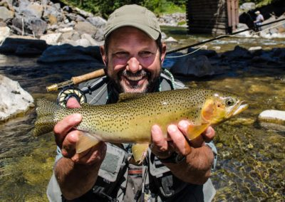 Guided Fly Fishing on the Elk River with FWA Fly Fishing (9)